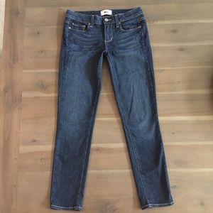 PAIGE Kylie Cropped Stretch Denim Jeans 26